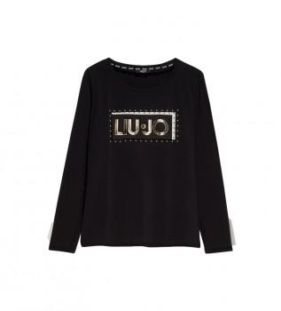 Buy Liu Jo T-shirt with black logo