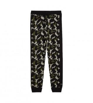 Buy Liu Jo Pants Camouflage green
