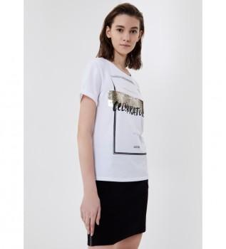 Acheter Liu Jo T-shirt TA1149 J5003 blanc