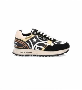 Comprar Liu Jo Sneakers Wonder 24 preto, dourado