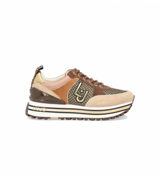 Buy Liu Jo Maxi Wonder 20 beige sneakers