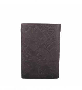 ab1c1082f Billetero de piel Lois Logos color negro -11x8,5x2-