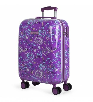 Buy Lois Nicosia Trolley Suitcase 130250 lilac - 55x40x20cm