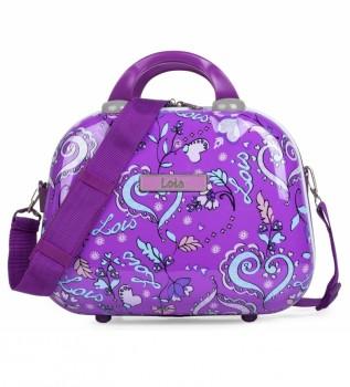 Buy Lois Toilet bag Nicosia 130235 lilac - 35x26x18cm