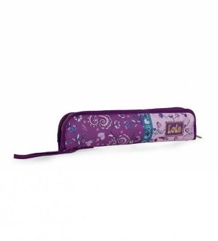 Buy Lois Girl's Pouch Patterned Pouch 130203 purple -37x8x2cm