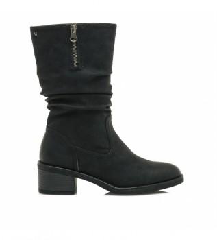 Buy MARIAMARE Boots 62612 black -Heel height: 5 cm