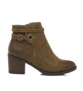 Buy MARIAMARE Ankle boots 62642 leather -Heel height: 6.3 cm