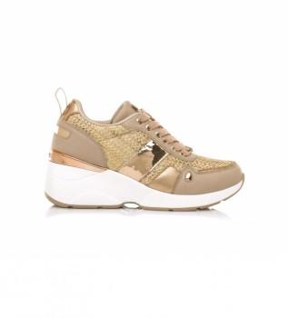 Buy MARIAMARE Sneakers 68033 nude -Height wedge: 6,5 cm