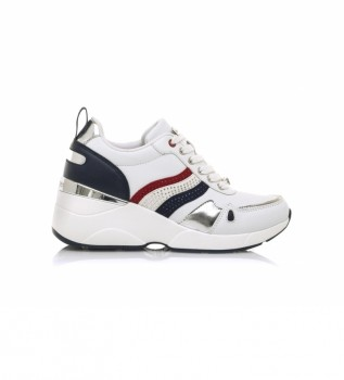 Buy MARIAMARE Sneakers 68187 white -Height wedge: 6,5 cm