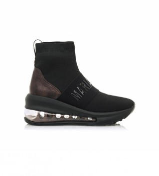 Buy MARIAMARE Sneakers with black boots 63151 -Height wedge: 5,70cm