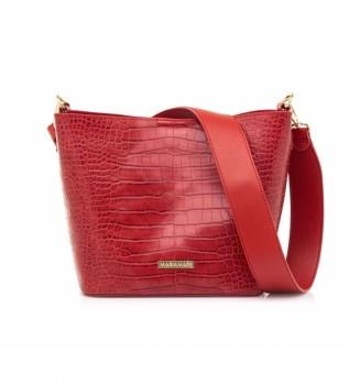 Buy MARIAMARE Naoki red handbag -20.5x21x13cm