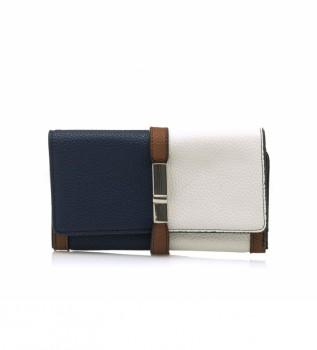 Buy MARIAMARE Gretel purse navy, white -18.5x11x2cm