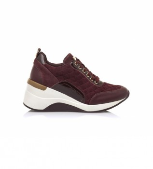 Buy MARIAMARE Shoes 62726 maroon - Wedge height: 6,5 cm