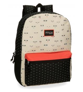 Comprar Movom Movom Wink Beig mochila escolar -42x31x17.5cm-