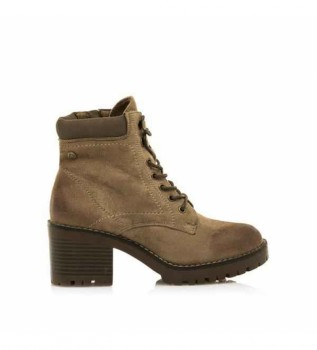 Buy Mustang Ankle boots 58645 taupe