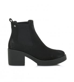 Buy Mustang Black Eris ankle boots -Heel height: 5cm