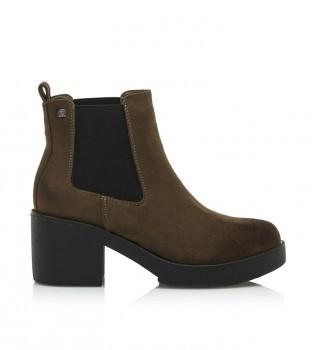 Comprar Mustang Eris moka botas de tornozelo - Altura do calcanhar: 5cm