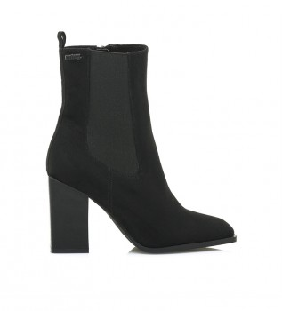 Buy Mustang Ankle boots Atos black -Heel height: 7cm