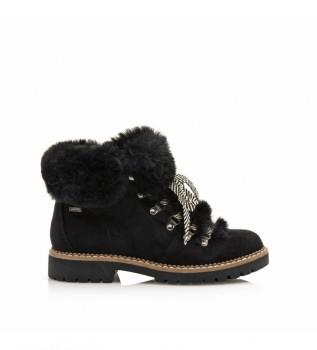 Buy Mustang Closin boots black