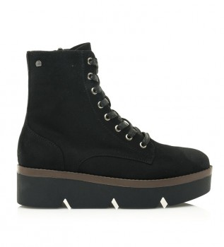 Buy Mustang Lare black ankle boots - platform height: 4.8cm