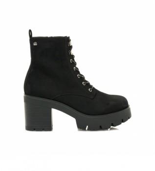 Buy Mustang Cora black boots -heel height: 8cm
