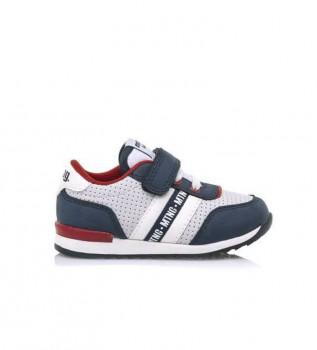 Buy Mustang Kids Shoes 47746 marine, grey