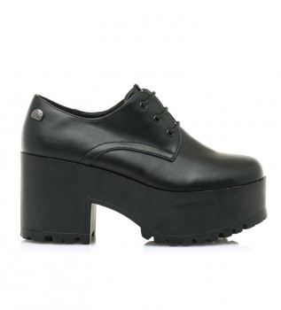 Comprar Mustang Sonya sapatos pretos - altura da roda+plataforma: 8cm
