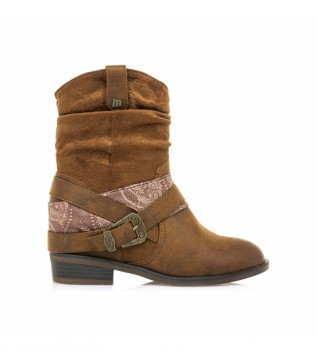 Buy Mustang Ankle boots 58165 brown