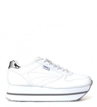 finest selection 977c1 cdeab Scarpe Rhin bianco - Altezza piattaforma  4cm