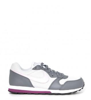 Detalles de Nike Zapatillas Tanjun Racer burdeos, rosa Mujerchica Tela Plano Cordones