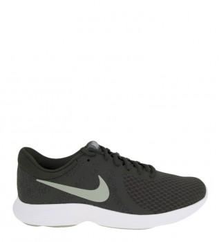 b1bfcabd2 Nike Zapatillas running Revolution 4 gris verde