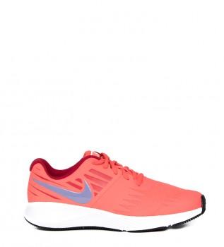 332d16883ad Zapatillas running Star Runner GS rojo fluor