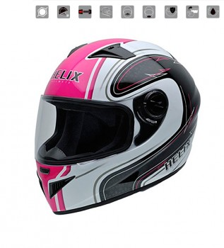NZI Must II Graphics Casco De Moto Mexican Skulls,Grande