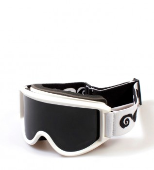 14466cc69a Ocean Sunglasses Gafas de nieve Mammoth blanco con cristal smoke