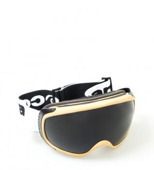a0176b33aa Ocean Sunglasses Gafas de nieve Mckinley crema con cristal smoke