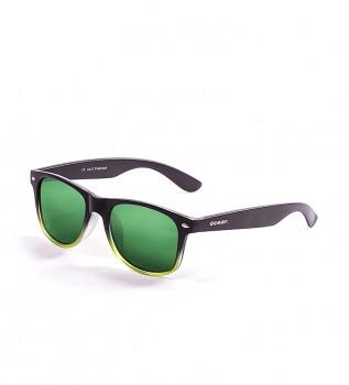 3f33bca10b Gafas de sol Beach negro mate, verde