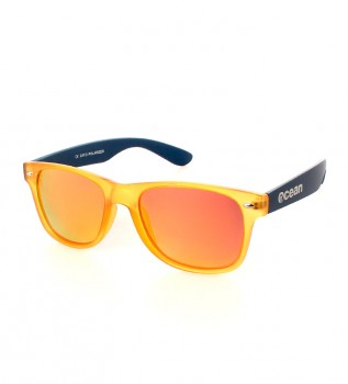 6671ebca32645 Ocean Sunglasses Beach sunglasses Wayfarer transparent yellow and blue matt