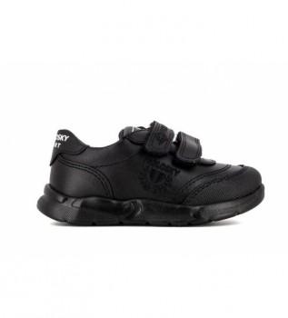 Acheter Pablosky Baskets en cuir 277910 noir