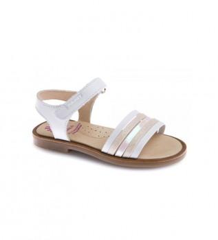 Comprar Pablosky Sandálias de couro Celia 479900 branco