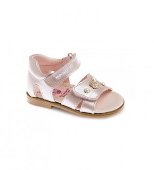Buy Pablosky Kuki nude leather sandals