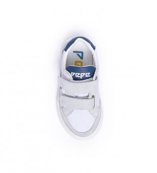 Buy Pepe Jeans Adams Archive Kids shoes white