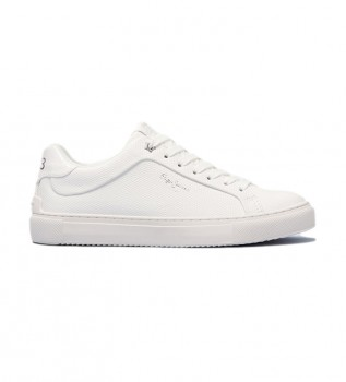 Acheter Pepe Jeans Sneakers Adams Collins blanc