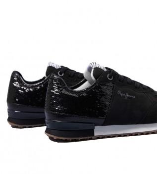 Comprar Pepe Jeans Zapatillas Archie Sequins negro