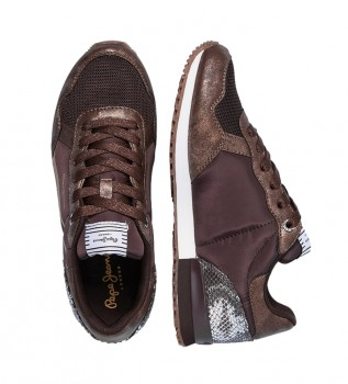 Buy Pepe Jeans Sneakers Archie Top bronze