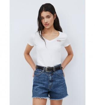 Comprar Pepe Jeans T-shirt Bleu branca
