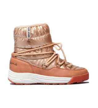 Buy Pepe Jeans Jarvis gold ankle boots