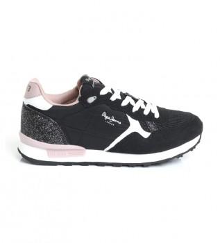Comprar Pepe Jeans Britt Sneakers preto, rosa