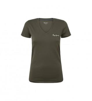 Buy Pepe Jeans T-shirt Bleu military green