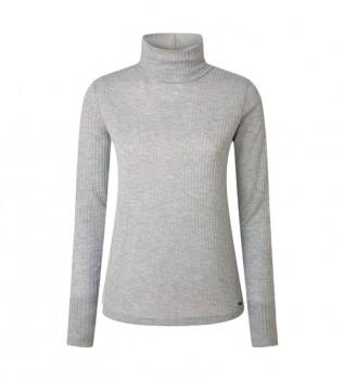 Buy Pepe Jeans Deborah T-shirt grey