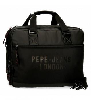 Acheter Pepe Jeans Sacoche pour ordinateur portable Pepe Jeans Bromley noir -42x33x11cm